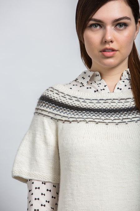 Fude Tee Knitting Pattern