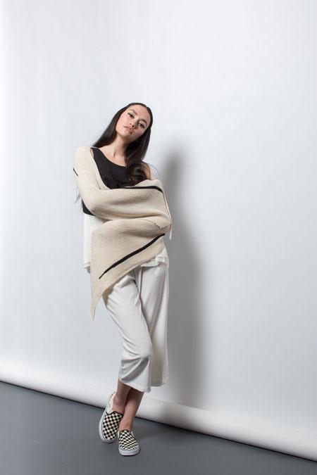 Hanshi Wrap Knitting Pattern
