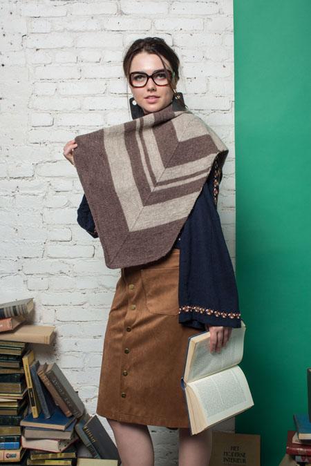 Parks Wrap Knitting Pattern
