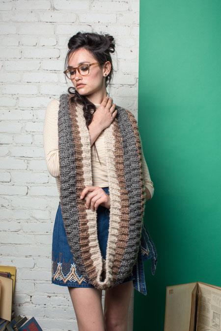 Warren Cowl Knitting Pattern from knitcsene Fall 2016