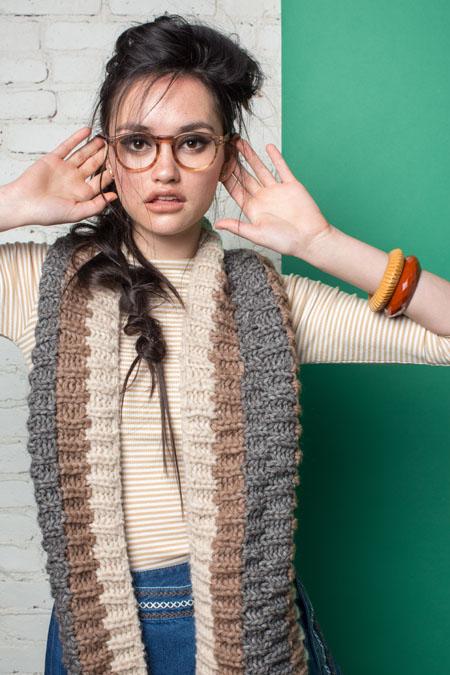 Warren Cowl Knitting Pattern