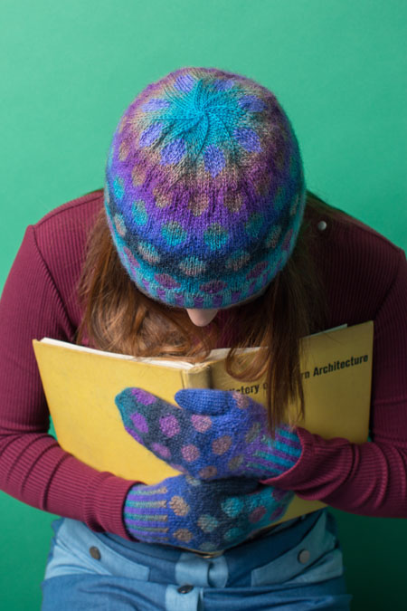 Maya Hat and Mittens Knitting Pattern
