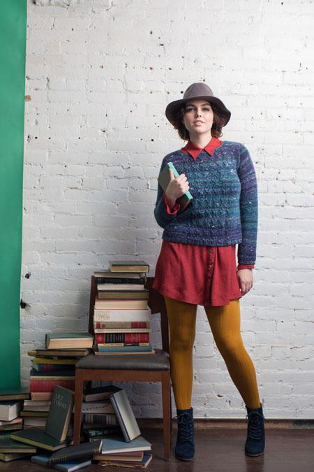 Carson Sweater Knitting Pattern