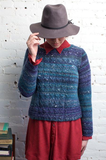 Carson Sweater Knitting Pattern from Knitscene Fall 2016