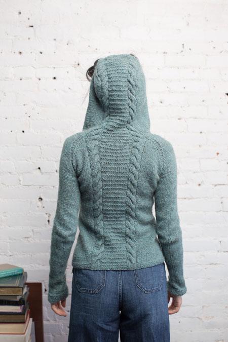 Alice Hoodie Knitting Pattern