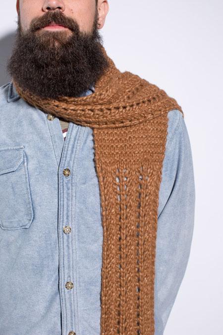 Dillon Scarf knitting pattern