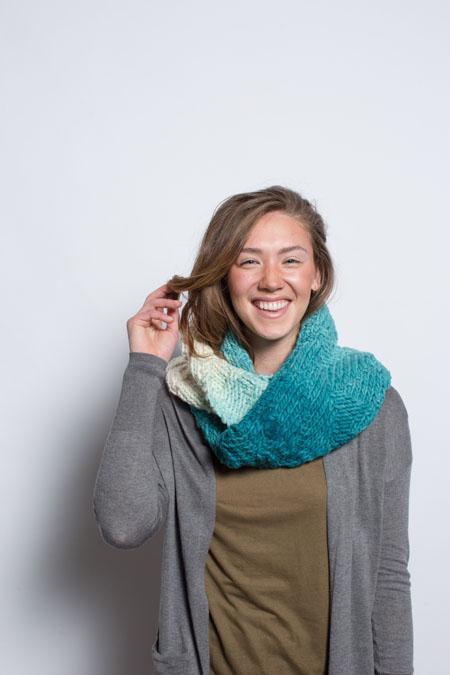 reservoir ridge cowl knitting pattern