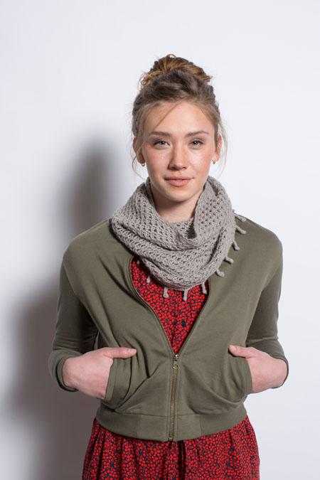 Edora Cowl knitting pattern