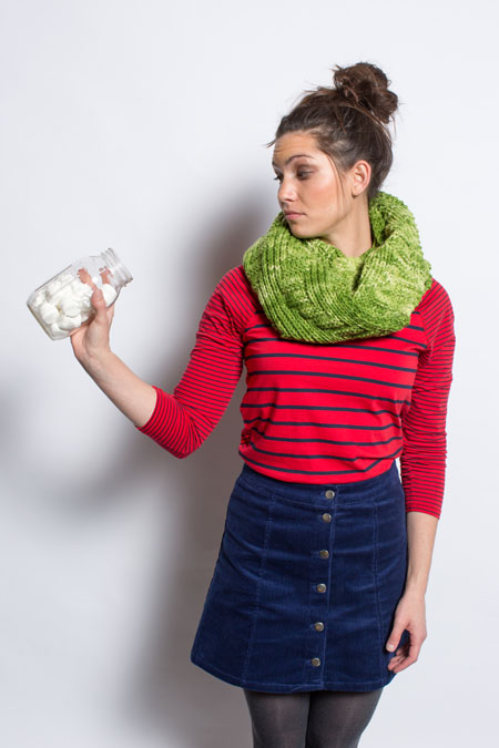eastern plains cowl knitting pattern