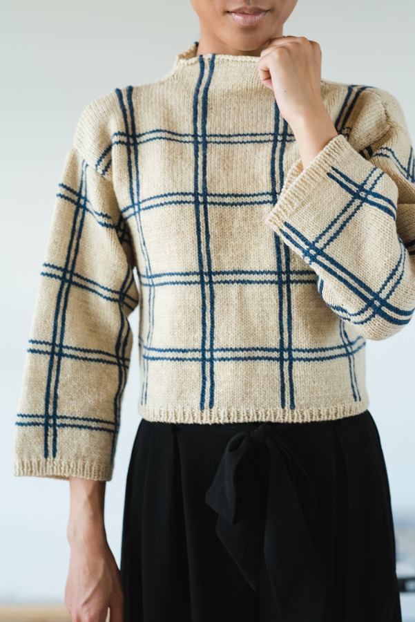 Join the Savoye Pullover knit-along!