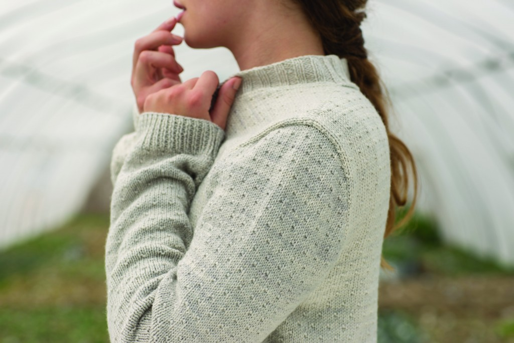 Lignin Cardigan by Heather Zoppetti in Knitscene Summer 2016