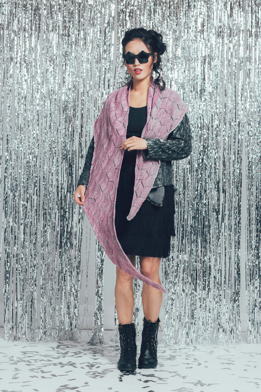 Celebration Shawl knitting pattern by Ruth Garcia-Alcantud from knitscene Winter 2016