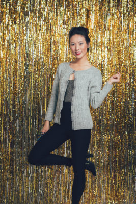Fête Cardigan knitting pattern by Cheryl Chow from knitscene Winter 2016