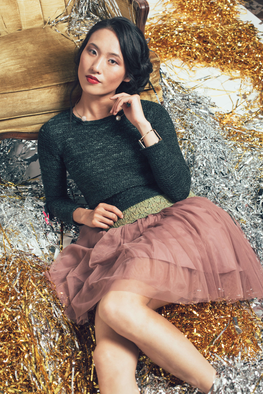 Revelry Sweater knitting pattern by Brandy Velten from knitscene Winter 2016