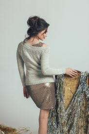 Editor's Choice Banquet Sweater by Kiri FitzGerald-Hillier