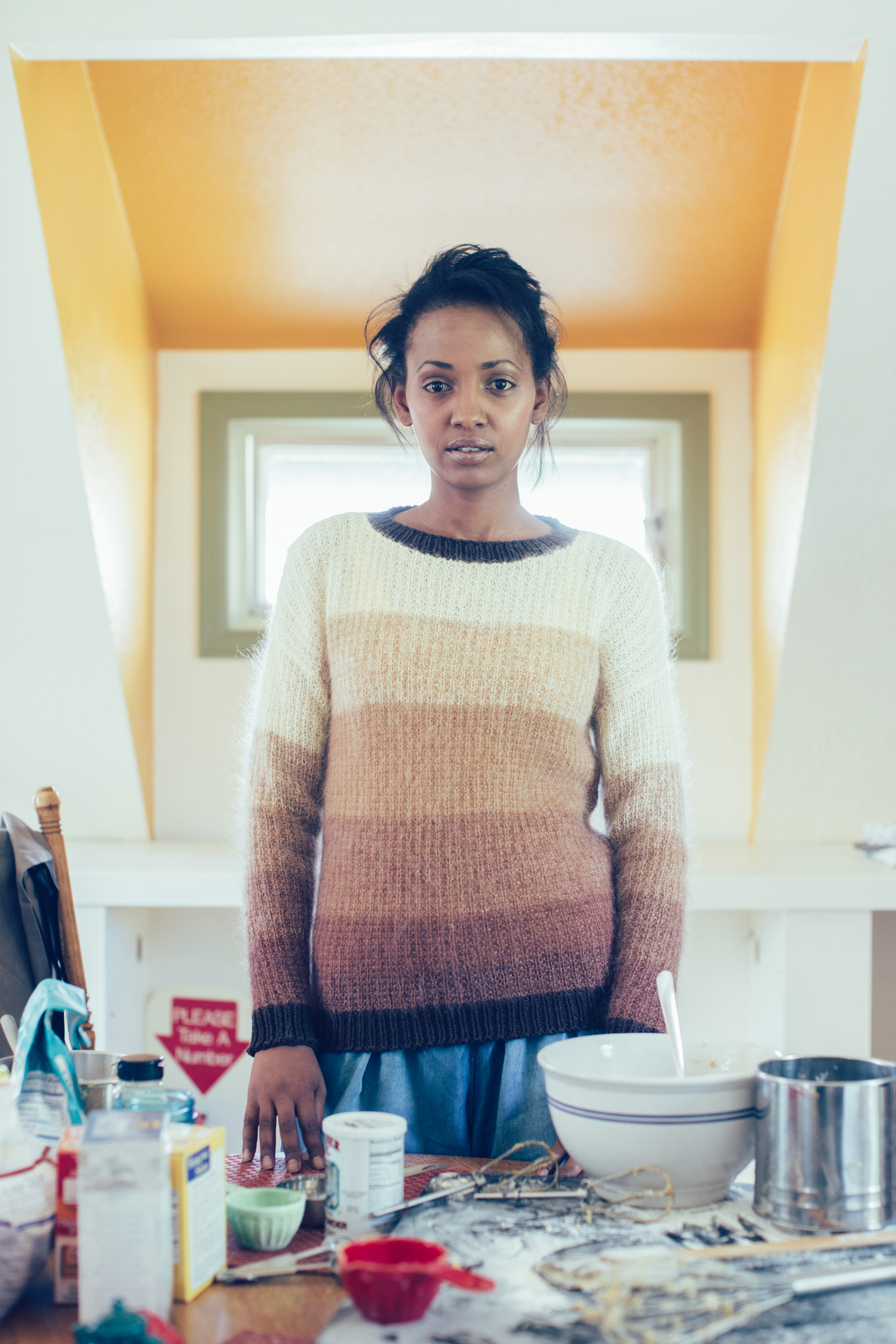 Hot Cocoa Sweater knitting pattern by Shaina Bilow from knitscene Winter 2016