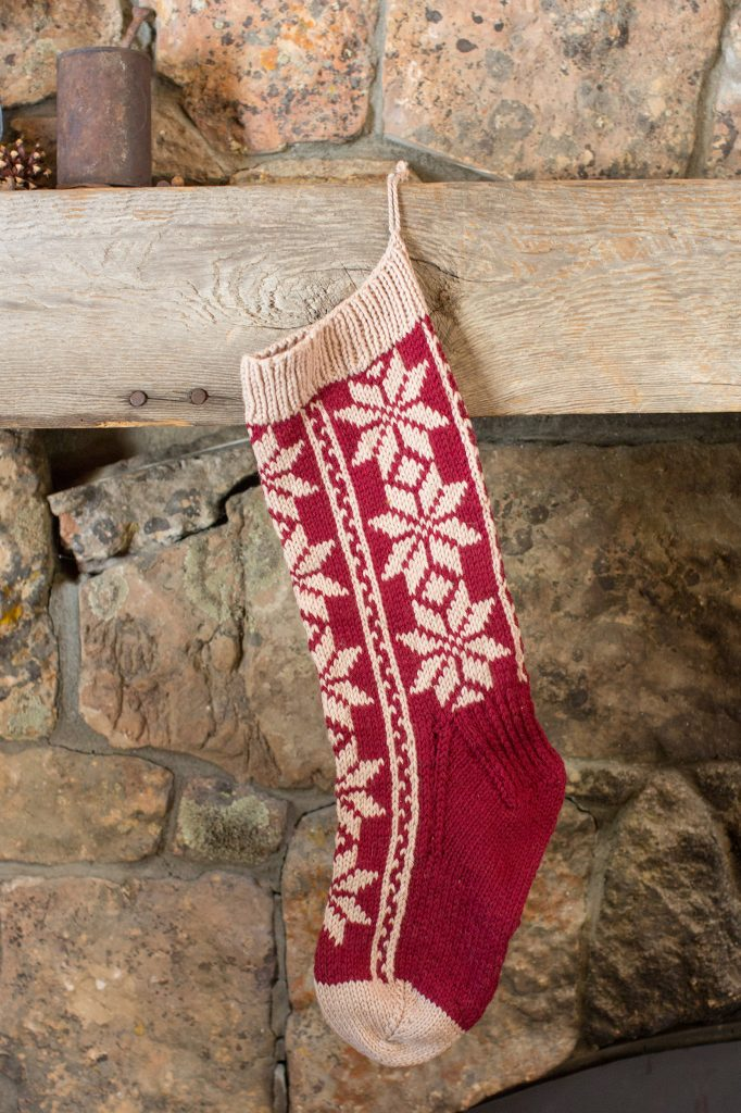 Stocking Knitting Pattern