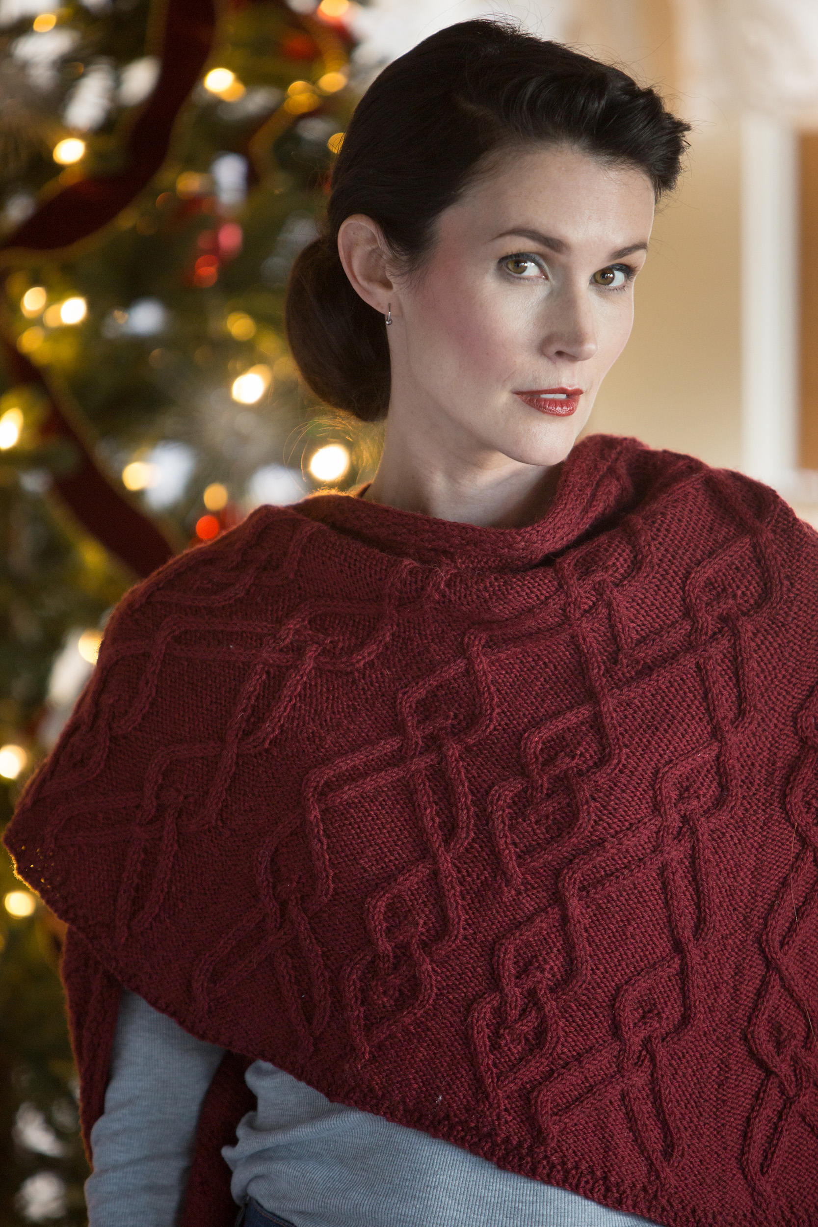 Capelet Knitting Pattern