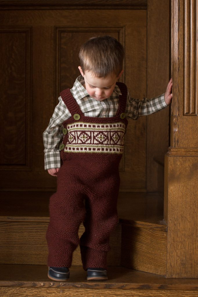 Overall Knitting Pattern