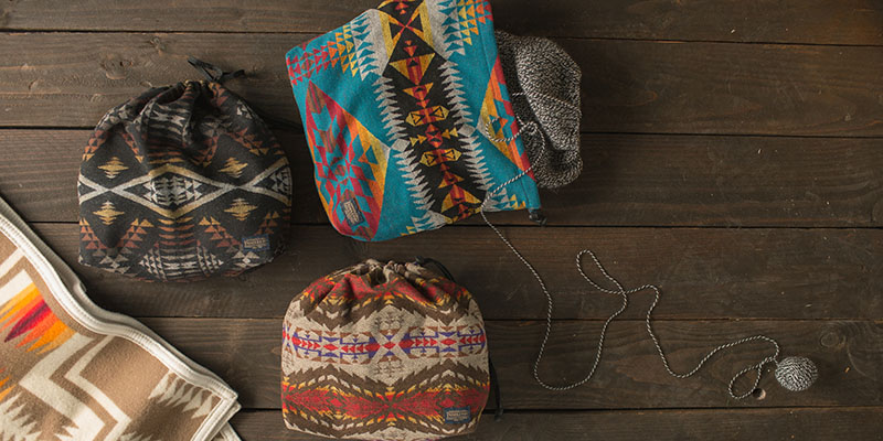 Pendleton Project Bag: The Envy of Knitters and Non-Knitters Alike