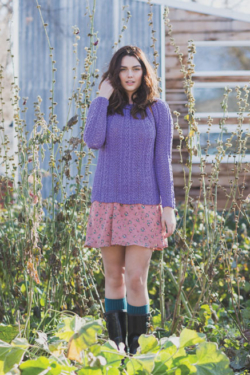 knit pullover sweater pattern