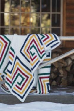 knit blanket pattern