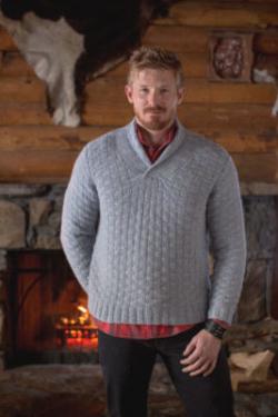 knit men's sweater pattern