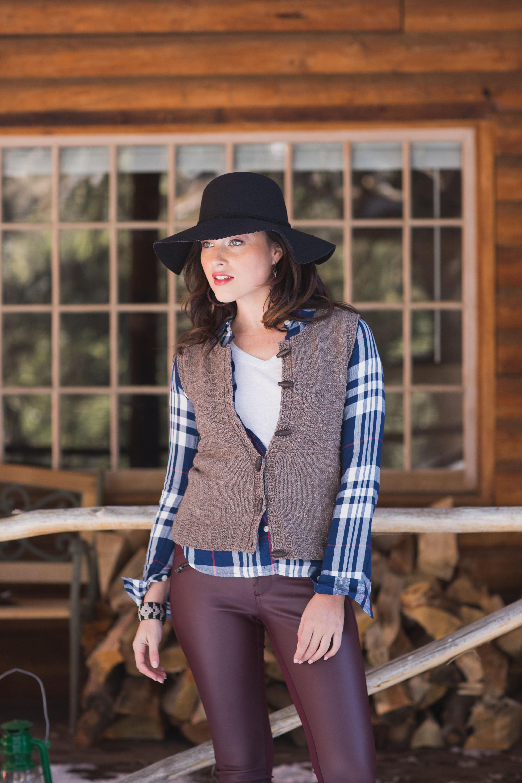 knit vest pattern