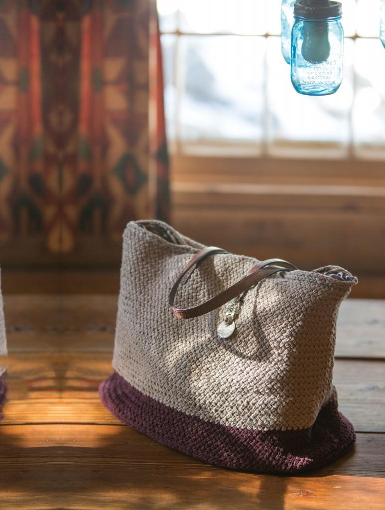 knit bag pattern