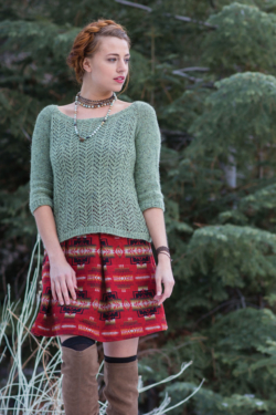 knit pullover pattern