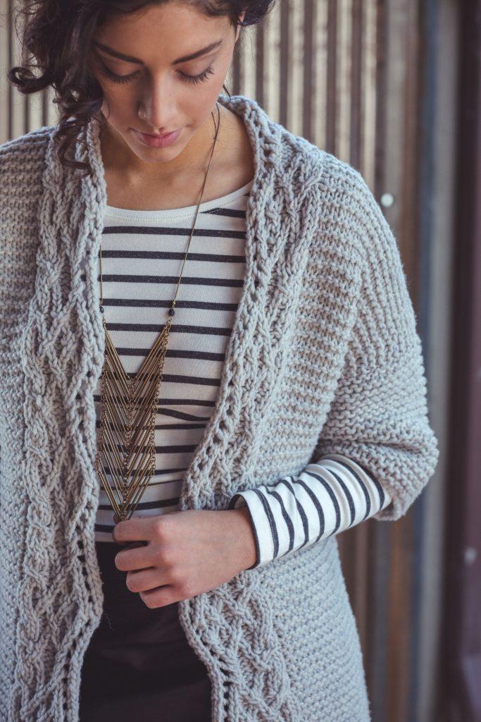 Cardigan Knitting Pattern