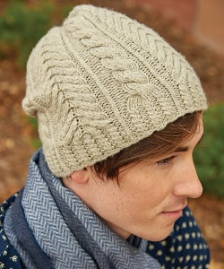 WIP Wednesday: Timber Cabled Toque - Interweave