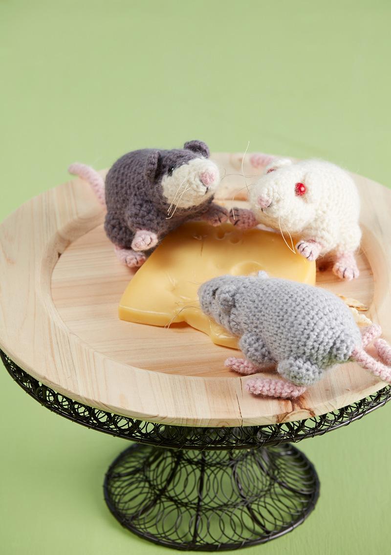 Crocheted Rat-a-Cuties