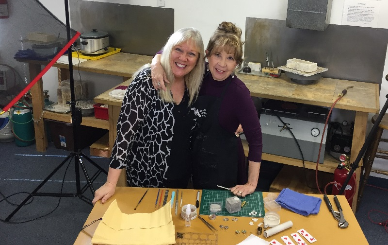 learn metal clay jewelry making with Darlene Armstrong