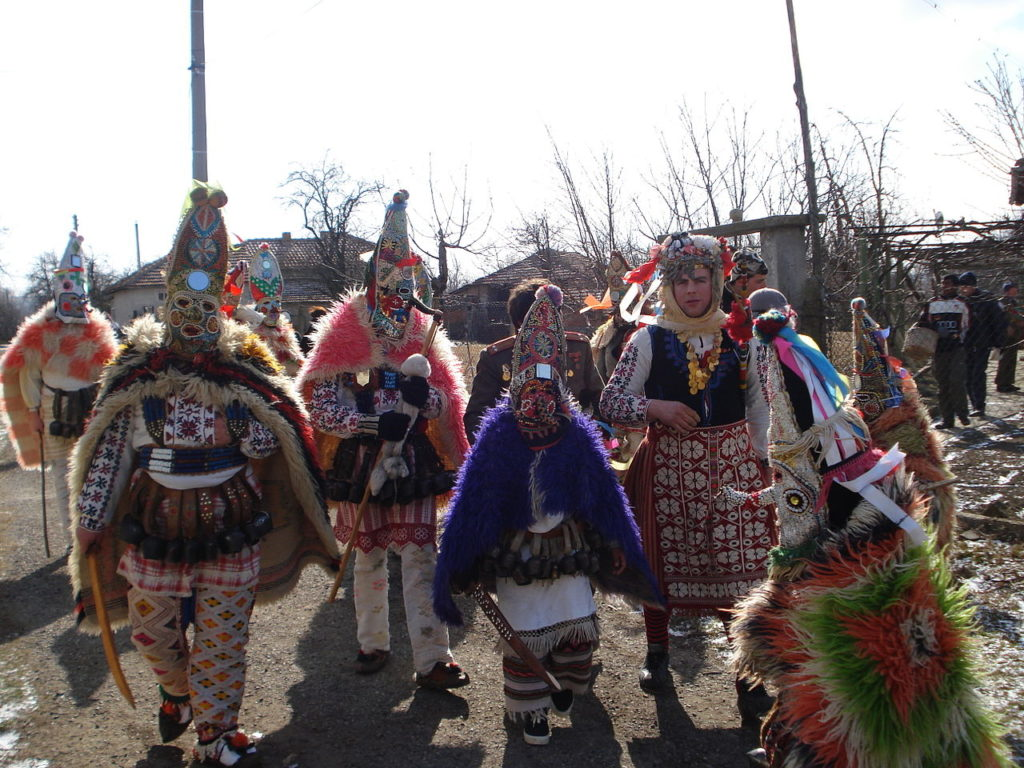 Bulgarian Kukeri