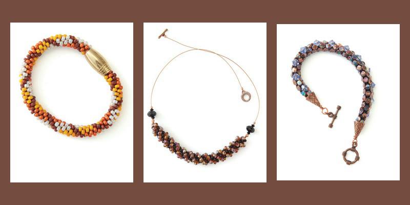 Tartan Bracelet, All That Glitters Necklace, Basilisk Bracelet
