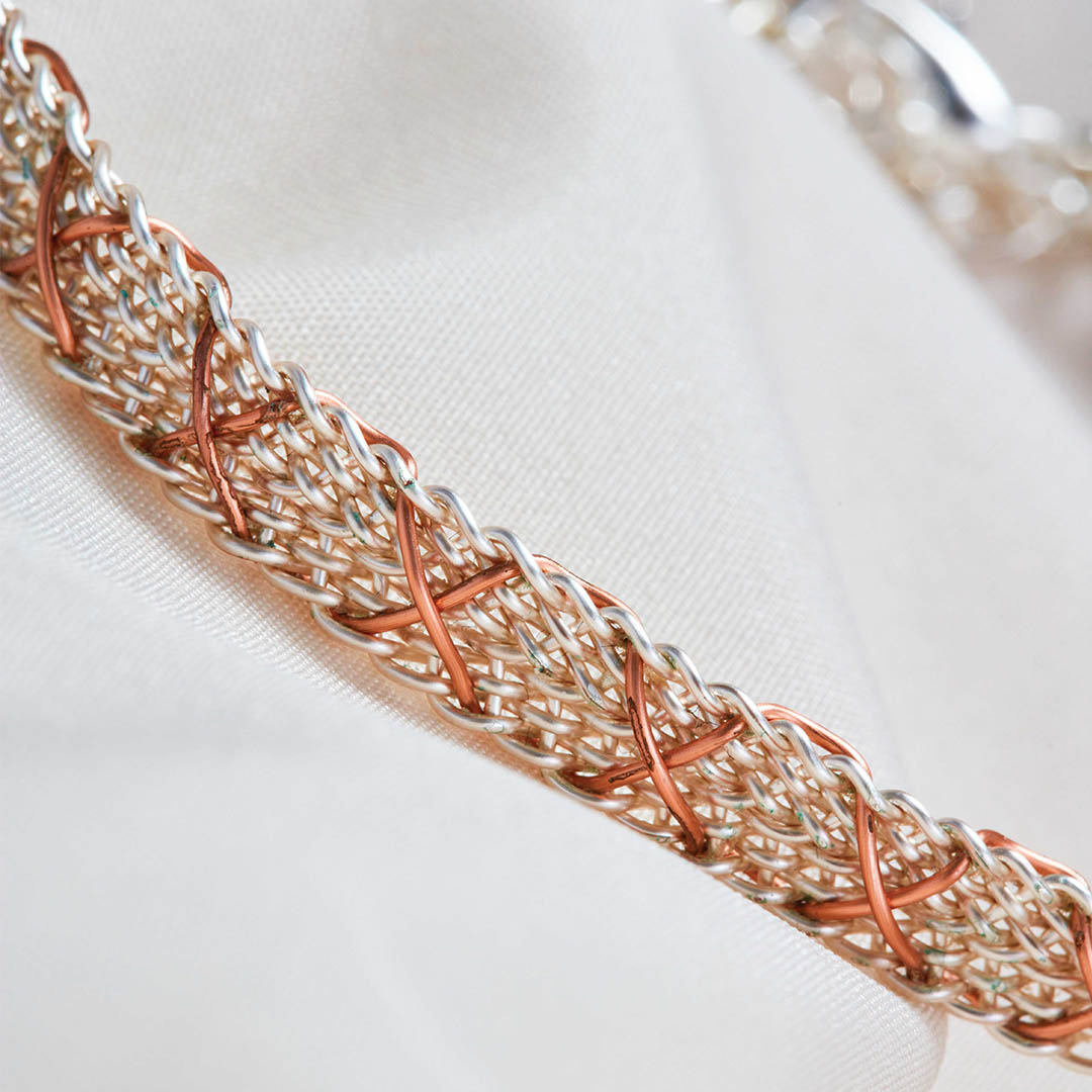 Kumihimo Wirework Made Easy: Kys Bracelet