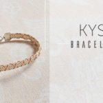 <i>Kumihimo Wirework Made Easy:</i> Kys Bracelet