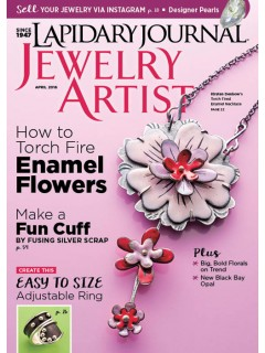 Lapidary Journal Jewelry Artist April 2016