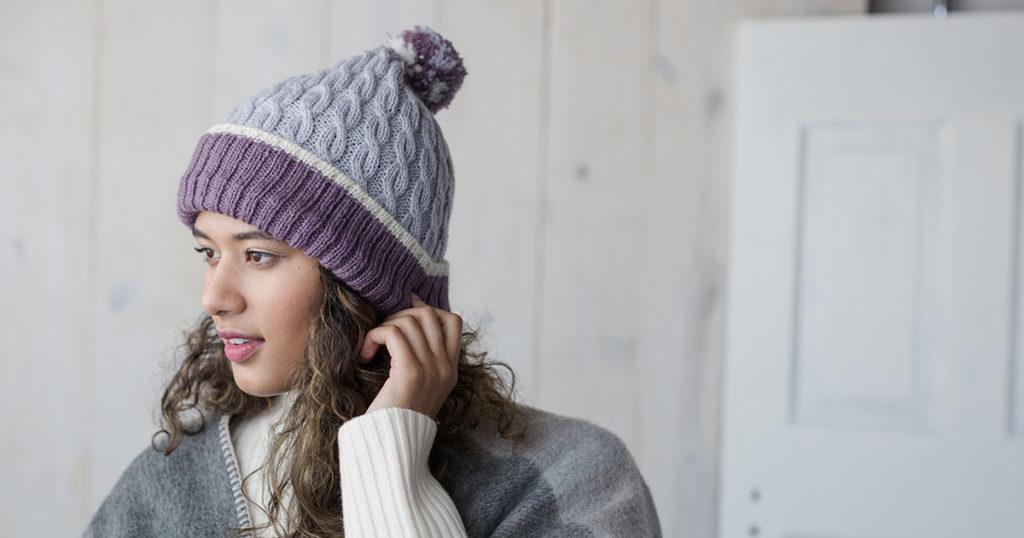 <em>Knits Gifts</em> 2018: Lavender Sprig Hat