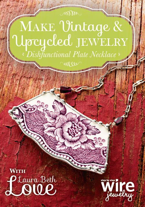 Laura Beth Love Upcycled Jewelry - Dishfunctional Plate Necklace