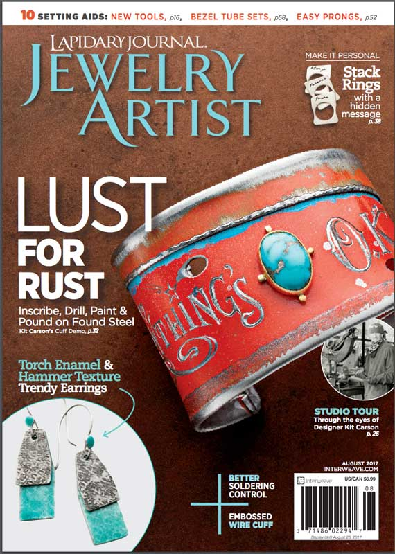 Editor's letter Lapidary Journal Jewelry Artist August 2017