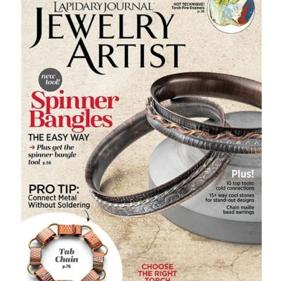 Lapidary Journal Jewelry Artist issue July/August 2018