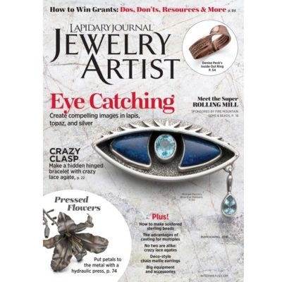 lapidary journal jewelry artist march-april 2018