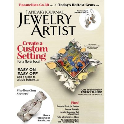 Lapidary Journal Jewelry Artist, May/June 2018