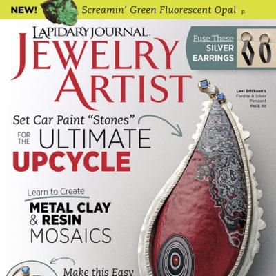 Lapidary Journal Jewelry Artist April 2017 Magazine Issue