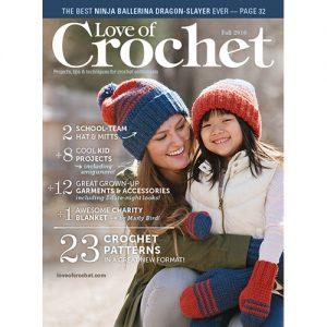 Cover of Love of Crochet Fall 2016