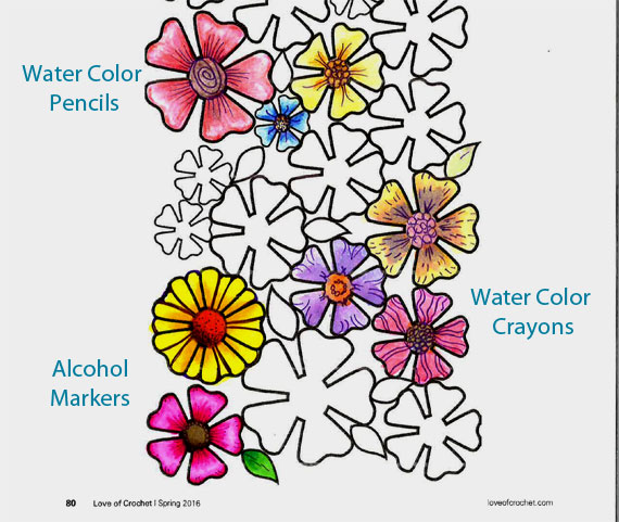 Coloring Mediums on Coloring Page from LOC Spr 16
