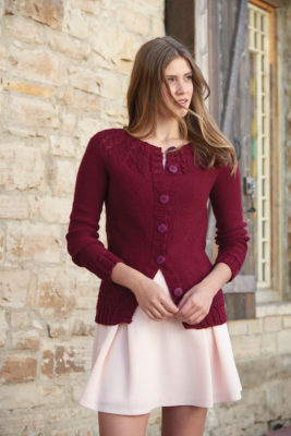 Faux Cabled Cardigan knitting pattern by Vanessa Ewing from Love of Knitting Spring 2016