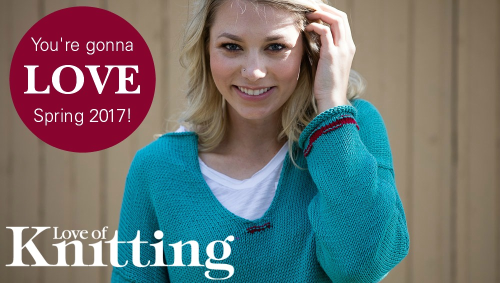 Some Like It Striped: Love of Knitting Spring 2017